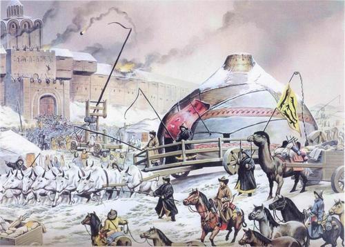 осада Киева монголами