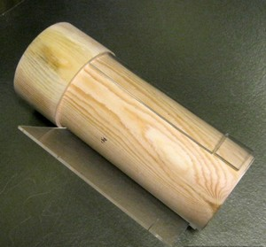 деревянный цилиндр