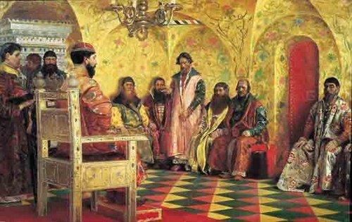 трон царя