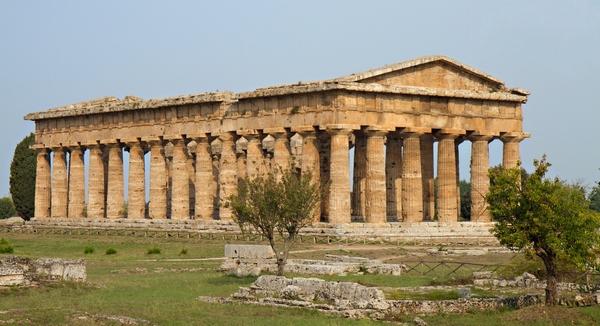 храм Посейдона в Пестумі