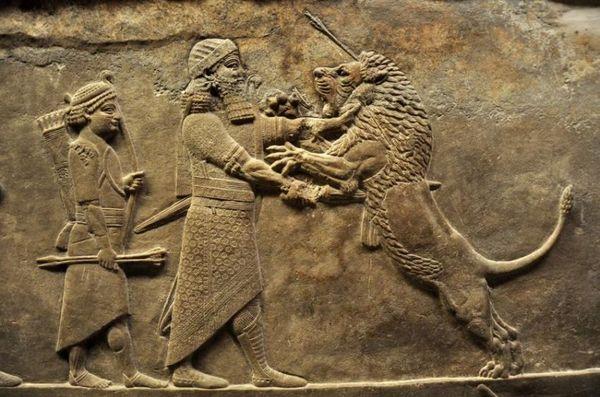 мистецтво Ассирії