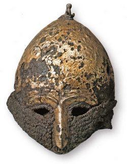 шлем половецкого хана