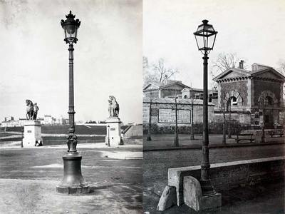 фонари в 19-м веке