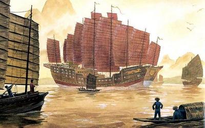 китайський корабель