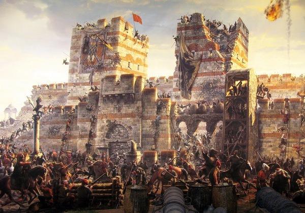 Осада Константинополя турками