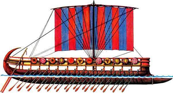 фінікійський корабель