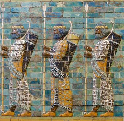 фрески на воротах Иштар