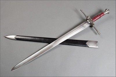 средневековый меч