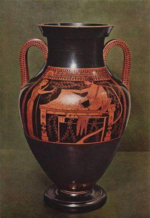 Розписана грецька амфора