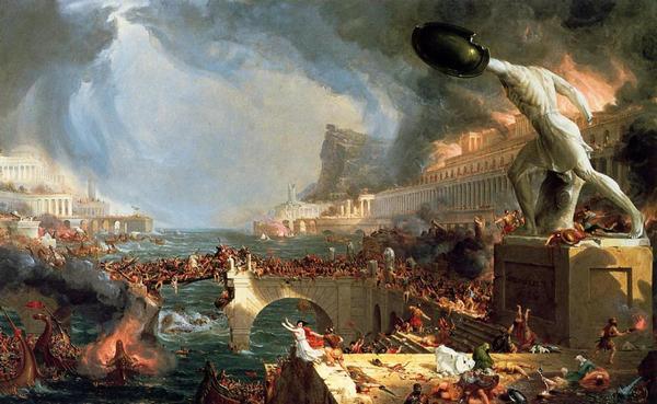 падіння Риму