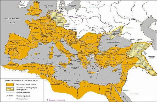 территория римской империи