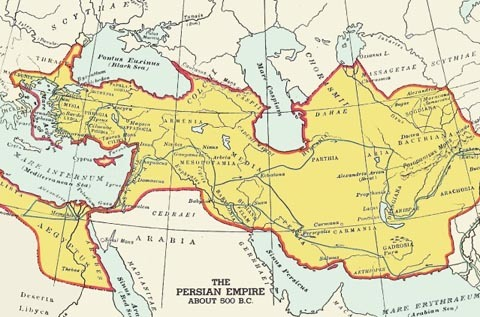 Карта Персії