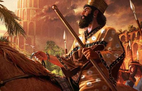 перський царь