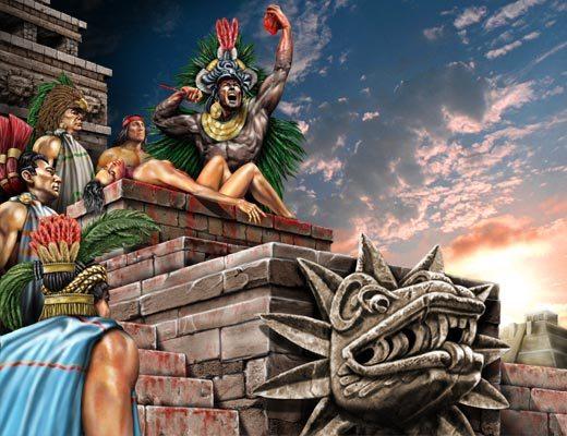 Жертвоприношение у майя