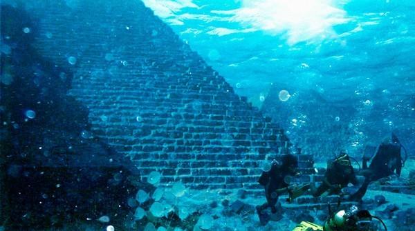 Подводные сооружения у багамских островов
