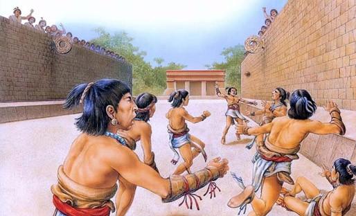 футбол майя