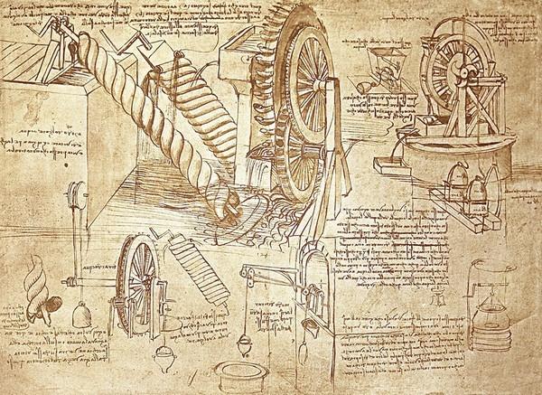 креслення Леонардо да Вінчі