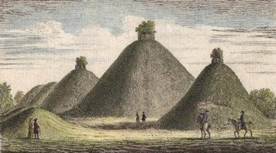 Древние курганы кельтов