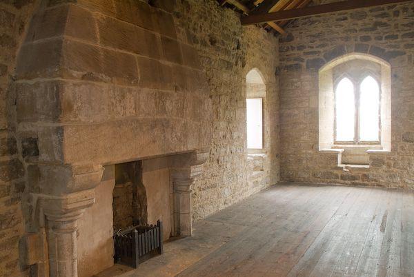 Средневековый дом внутри