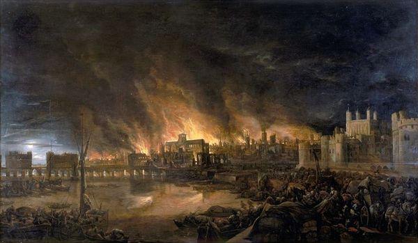Великий лондонский пожар