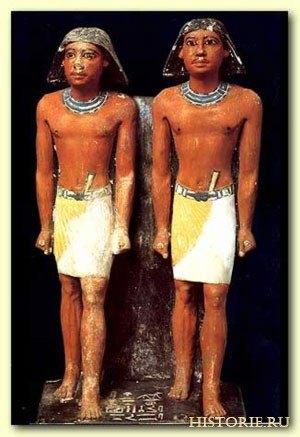 Мужская одежда древнего Египта
