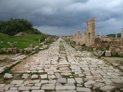дорога Римской империи