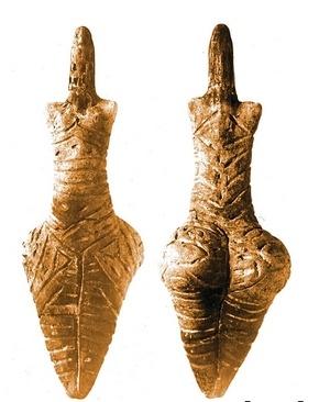 Трипольские статуетки