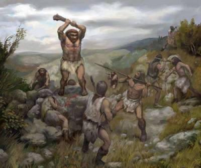 кроманьонцы против неандертальцев