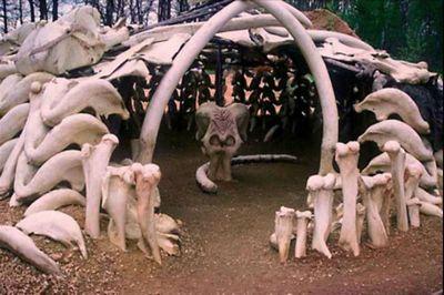 Дом из бивней мамонта