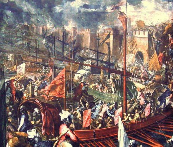 Здобуття Константинополя хрестоносцями