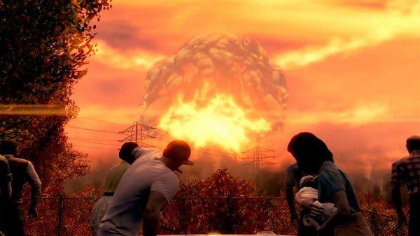 fallout ядерный взрыв