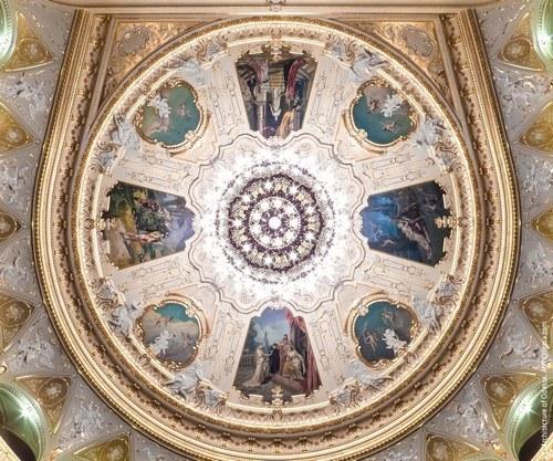 потолок одесского оперного театра