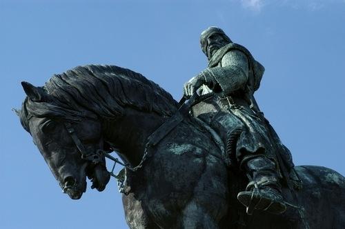 Памятник Яну Жижке в Праге