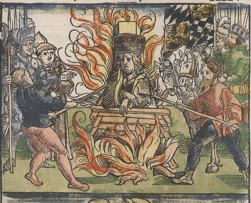 Сожжение Яна Гуса