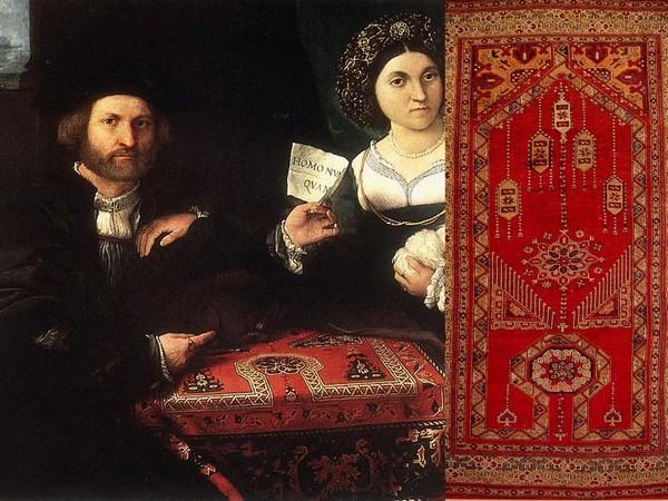 Турецкие ковры в европейской живописи