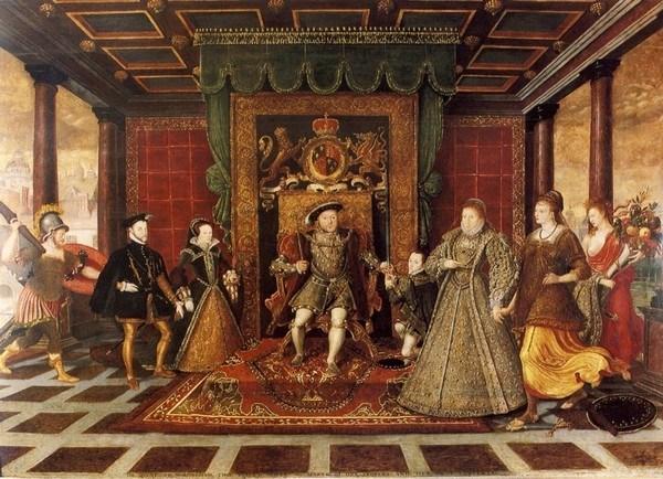 Турецкие ковры во дворце английского короля Генриха VIII