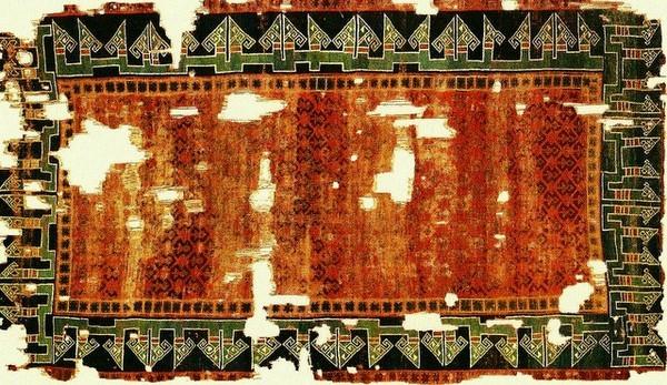 старинный сельджукский ковер