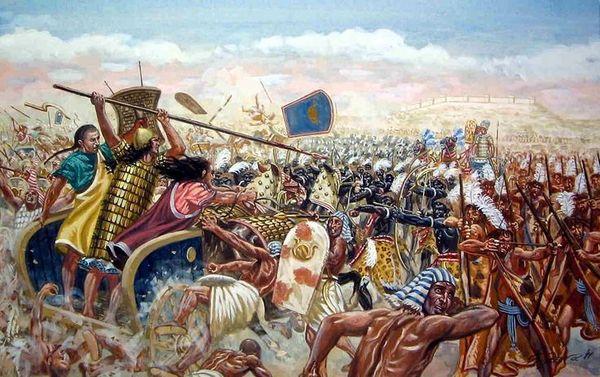Битва хеттов с египтянами