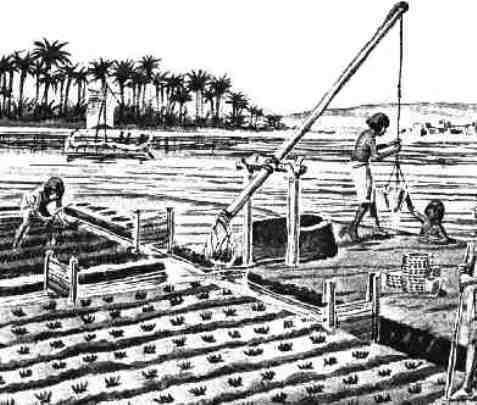 насос в древнем Египте