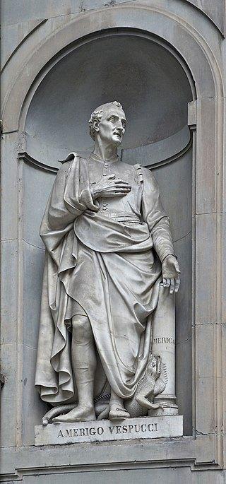 Статуя Амеріго Веспуччі