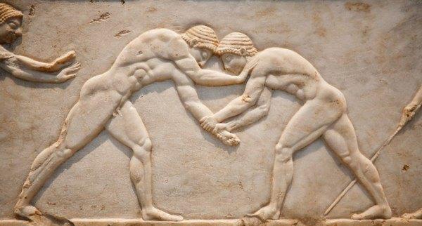 древнегреческие атлеты