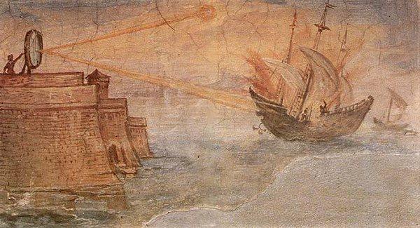 Архимед сжигает суда