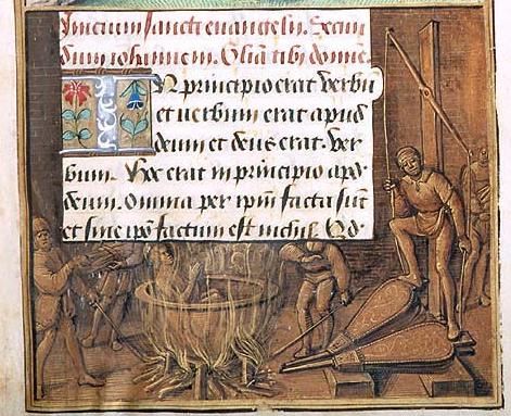 Средневековый котел