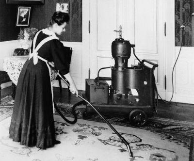 история пылесоса