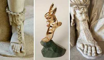 Історія сандалій